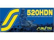 Sunstar Ss520Hdn-120 Hd Non-Sealed Chain 520X120