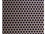 Helix 005-1804 Aluminum Mesh Sheet 18  X 18  Round
