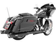 Freedom Hd00272 Racing Duals Comp Blk Bagger