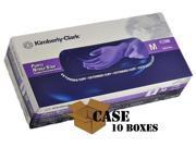 Kimberly Clark Purple Nitrile Medical Exam Gloves X TRA Case sizes Small