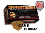 Microflex - Synetron Polymer-Coated Latex Examination Gloves - Case - size: Small