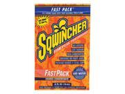 Sqwincher Fast Pack .6 Ounce Liquid Concentrate Packet Orange Electrolyte Drink - Yields 6 Ounces (50 Single Serving Packets Per Box) 9SIA4TR2KK0608