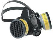 North by Honeywell Medium Black Silicone Half Mask 7700 Series Facepiece 9SIA4TR2KJ9097