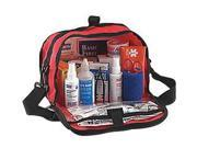 """North By Honeywell Redi-Care 7"""""""" X 10 1/2"""""""" X 6"""""""" Red Nylon Portable Mount Large 25 Person Responder First Aid Kit With CPR Barrier"""" 9SIA4TR2KK0220"""