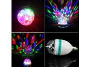 GBB LED Full Color Rotating Lamp Disco Party Bar Club Effect Lights Stage Lighting- RGB LED Holiday Decor