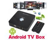 Full HD HDTV Android 2.3 Internet TV Box WIFI Media Player 1080P 2GB Remote