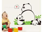 Can remove the wall stickers The kindergarten children room adornment wall stickers A panda wall stickers JM8317