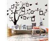 The new black photo wall stickers Transparent membrane wall stick TV setting wall stickers PVC DM6959