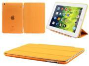 Apple iPad Mini Magnetic Smart Front Cover Back Slim Design Hard Case NEW orange