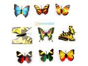 New Outdoor Butterfly Garden Lights Solar Power Lawn Light Different Shape