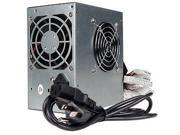 A-Power AGS450 450 Watt Power Supply 20+4-pin Dual-Fan ATX w/ SATA 450W