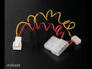 Akasa Fan Cable Converter from 3-pin to 4-pin Akasa C-CABLE-ADPT