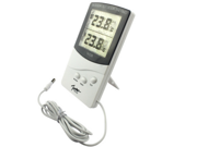 TA338 Digitale LCD Internal and External Thermometer Hygrometer Temperature