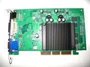 NVIDIA GeForce 512MB AGP 4X 8X Single Slot Video Graphics VGA Card VGA+DVI+HDTV shipping from US