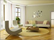 The mirror wall stickers stickers sitting room sofa TV setting wall adornment bedroom mirror flower wall stickers P005