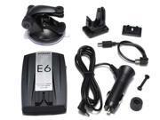 Car Radar Detector E6 Support English LED Screen Repair detection tool