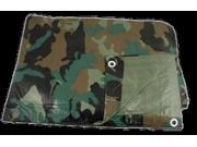 TARP, PE 12' X 16' SHELF PACK CAMO 9SIA4M556B5787