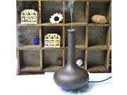 Ultrasonic Air Fragrance Aromatherapy Diffuser Aroma Humidifier Vase Shaped (Dark Oak) 9SIA4W227H6183