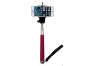 Extendable Selfie Handheld Stick Monopod Pod for iPhone, Samsung, camera with 1/4 inch Screw Hole (Pink) 9SIA4W22971657