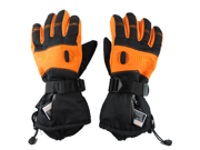 Professional outdoor motorcycle gloves rechargeable electric gloves ski gloves  Size XL(Yellow) 9SIA4W22A78810