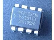 Image of 10pcs WS2811 WS2811D LED Drive IC Chip DIP8