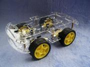 For Arduino Robot Project - 4WD Smart Car Chassis Kits with Speed Encoder