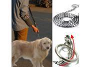 M5J Training Dog Collars Snake P Choke Metal Chain Collar For Medium Large Dog 55cm