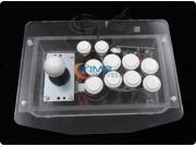 Acryl joystick with 8 actuation buttons/Arcade rocker with sanwa joystick and button/USB,PC, PS3 joysticy/arcade game feelling
