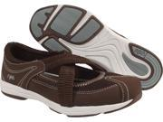 Ryka Cross Strap Slip On Brown