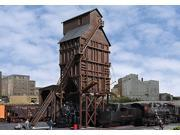 "Walthers-Wood Coaling Tower -- Kit - 7-1/2 x 6-1/2 x 10-5/8""""  19.1 x 16.5 x 27cm"" 9SIA4WG1JS1372"