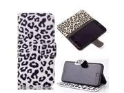 Usberry iPhone 4 caseClassic iPhone 4 4S leatheriPhone 4 leahter Case iPhone 4 wallet caseLeopard Pattern Design Flip Wallet leather case cover for iPhone 4 (2014)