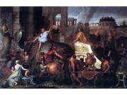 Charles Le Brun Entry of Alexander into Babylon - 16