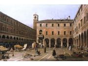 Canaletto  Campo di Rialto - 16