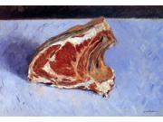 "Gustave Caillebotte Rib of Beef - 16"""" x 24"""" Premium Canvas Print"" 9SIA4Y21K80232"