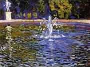 Theo Van Rysselberghe The Fountain: Parc Sans Souci at Potsdam (also known as Berlin) - 18