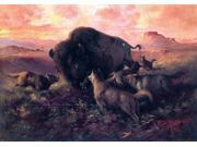 Frank Tenney Johnson The Wounded Buffalo - 16