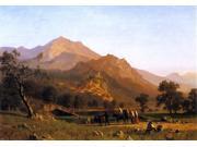 Albert Bierstadt Rocca de Secca - 16