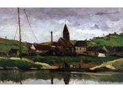 Paul Cezanne View of Bonnieres - 16