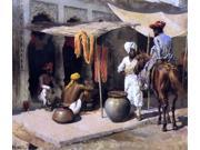 Edwin Lord Weeks Outside an Indian Dye House - 16