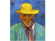 Vincent Van Gogh Portrait of Patience Escalier, Shepherd in Provence - 16