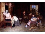 "Robert Gemmell Hutchison The Pathos Of Life - 16"" x 24"" Premium Canvas Print"