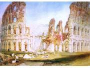 Joseph William Turner Rome: The Colosseum - 16
