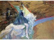 Henri De Toulouse-Lautrec At the Cirque Fernando: Rider on a White Horse - 18