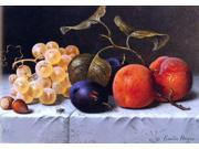 "Emilie Preyer Still Life with Fruit and Nuts - 16"""" x 24"""" Premium Canvas Print"" 9SIA4Y21KA2152"