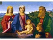 Vincenzo Catena Madonna and Child with Saints and the Donor - 16