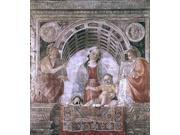 "Vincenzo Foppa Madonna and Child with St John the Baptist and St John the Evangelist - 16"""" x 20"""" Premium Canvas Print"" 9SIA4Y21K95429"