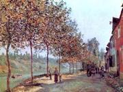 Alfred Sisley Morning in June (also known as Saint-Mammes et les Coteaux de la Celle) - 18