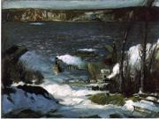 George Wesley Bellows A Scene of the North River - 18