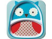 Skip Hop Zoo Tableware Melamine Plate Owl