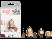 16GB Star Wars TLJ  R2-D2 Gold USB Flash Drive